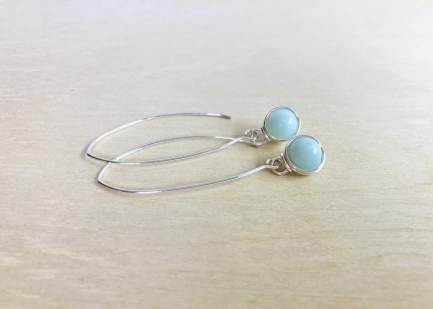 Wire-Wrapped-Amazonite-Earrings